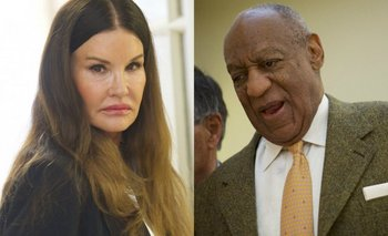 Janice Dickinson y Bill Cosby