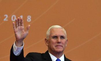 Mike Pence, vicepresidente de EEUU, presente en la Cumbre de las Américas.