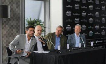 Ignacio González, Antonio Carámbula, Enrique Antía y Ernesto Kimelman