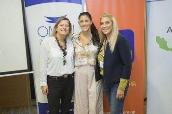 Andrea Bellolio, Lucía Cabanas y Elena Tejeira