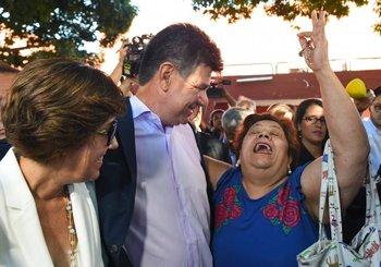 <b>El candidato liberal Efraín Alegre</b>