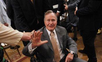El ex presidente George Bush