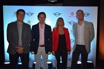 Luis Pascual, Pablo Etcheverry, Andrea Larralde y Boris Goldenberg