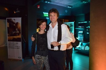 Karina Yacoubian y Gianni Bortolotto