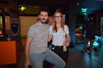 Diego Corubolo y Alexia Ravera