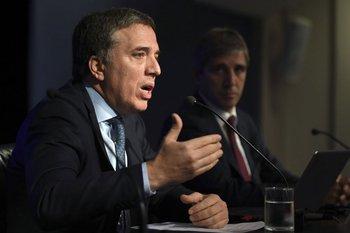 Ministro de Hacienda argentino, Nicolás Dujovne