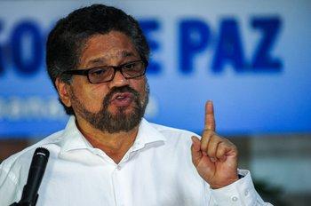 Iván Márquez, del Partido Fuerza Alternativa Revolucionaria de Colombia