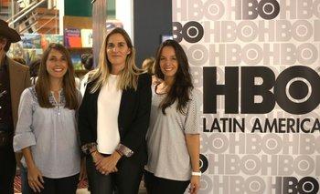 Valeria Alvarez, Florencia Giletta y Natalia Cirelli