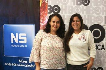 Rosa Torres y Laura Zapata