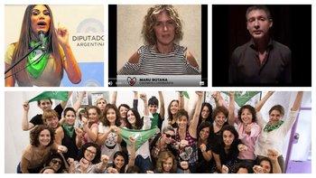 Flor de la V, Maru Botana y Adrián Suar son algunas de las personalidades argentinas que manifestaron su opinión sobre el aborto <br>