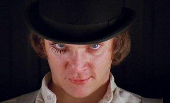 Escena de <i>La naranja mecánica</i>, un filme clásico de Stanley Kubrick