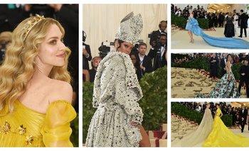 Amanda Seyfried, Rihanna, Diane Kruger, Amal Clooney y Rosie Huntington y Lily Aldridge  <br>