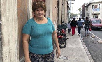 Agustina llegó a Uruguay desde Cuba acompañada por tres familiares y tras una larga travesía. G. Losa