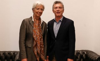 Lagarde estuvo reunida con Macri en Olivos el pasado 16 de marzo.