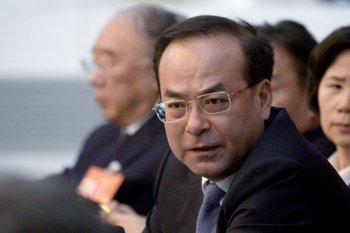 El político chino Sun Zhengcai