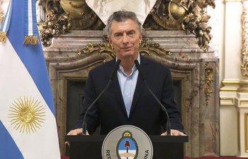 El presidente argentino se reunión con los industriales del sector cárnico.<br>