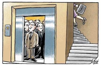 Las diferencias y las discriminaciones de género están en las pequeñas cosas, como bien marca esta ilustración del artista suizo Bénédicte