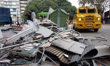 Un cajero fue destruido mediante la explosión de una garrafa en Rivera y Gabriel Pereira