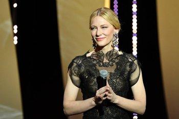 La actriz australiana y presidenta del jurado, Cate Blanchett, en la 71ª edición del Festival de Cannes