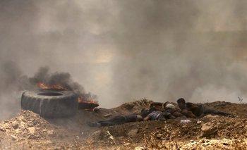El conflicto en la Franja de Gaza dejo al menos 60 muertos