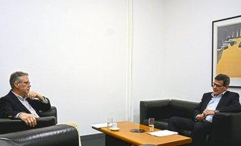 Vázquez y Díaz se reunieron este martes en la sede de la Fiscalía