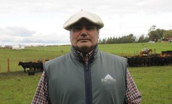 Álvaro Díaz Nadal, presidente de la Sociedad de Criadores Angus del Uruguay.<br>