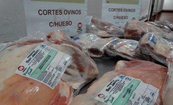 Los primeros embarques de carne ovina con hueso a EEUU han sido alentadores