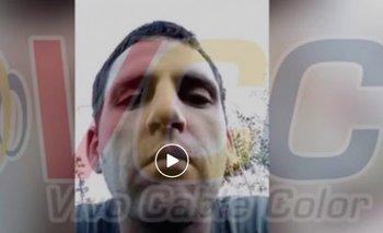 El hombre hizo un video en mayo para explicar por qué se había fugado