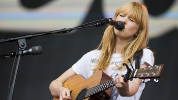 Lucy Rose se dio cuenta de que era popular en Sudamérica al analizar las estadísticas de Spotify.