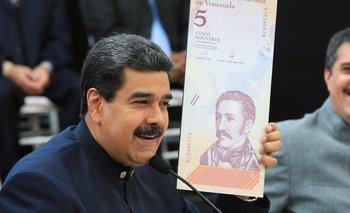 La economía es el principal reto de Nicolás Maduro.