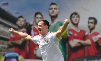 Andrey Lunev, jugador de la selección rusa