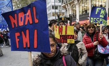 Las protestas se han vuelto a tomar Argentina, esta vez en contra del ajuste y el llamado al FMI en busca de apoyo financiero.