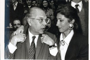 <div><p>Jorge Batlle con su segunda esposa, Mercedes Menafra<u></u><u></u></p><div><br></div></div><div></div>
