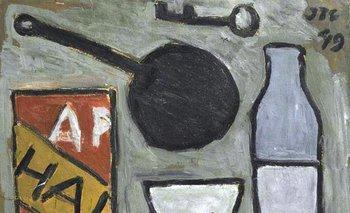 <i>Objetos sobre plano gris</i>, del pintor Joaquín Torres García, fue vendido en US$ 87.500<br>