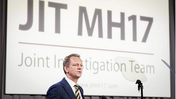 Westerbeke, jefe de la Fiscalía Nacional de Holanda, aseguró que estaba nullconvencidonull de la participación rusa.