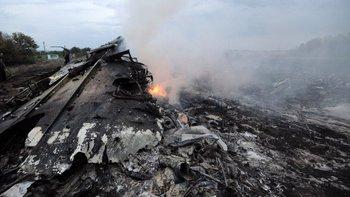 El avión fue impactado por un misil el 17 de julio de 2014.