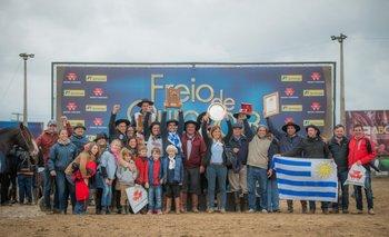 La coronación del mejor Criollo del Freno de Oro de la FICCC.