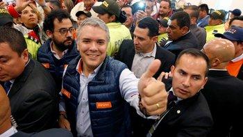 Iván Duque dio un salto en las encuestas cuando fue elegido el candidato del partido de Álvaro Uribe.