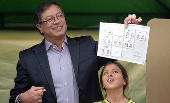 Gustavo Petro buscará obtener la presidencia el 17 de junio ante Iván Duque, identificado con la derecha.
