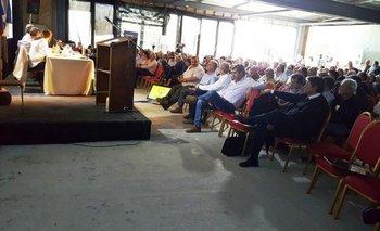 El congreso de la Federación Rural realizado en Dolores contó con una buena concurrencia