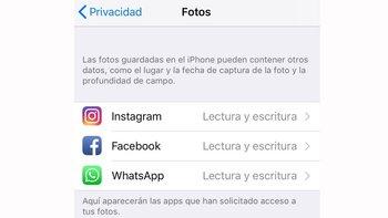 También puedes restringir el acceso de aplicaciones como Facebook o WhatsApp.