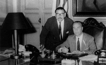 Jorge Pacheco Areco en tiempos de su Presidencia