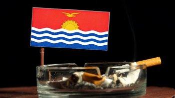 La nación isleña de Kiribati tiene bajos impuestos sobre los cigarrillos por lo que su consumo es extremadamente alto.