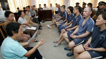 Ser un prisionero sordomudo en China no es fácil.