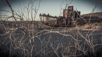 El pueblo de Moynaq fue en un entonces el principal puerto pesquero de Uzbekistán sobre el mar de Aral.