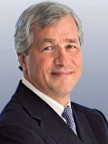 James Dimon de JPMorgan lidera la lista.