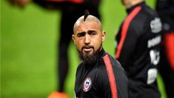El chileno Arturo Vidal será otro de los ausentes.