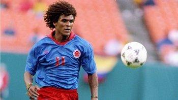 John Jairo Tréllez disputó las eliminatorias con Colombia para los mundiales de Italia 90 y Estados Unidos 94.