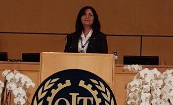 Flor de Liz Feijoo en la Conferencia Internacional del Trabajo