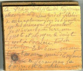 Martin esperaba que alguien encontrara su diario cuando el ya estuviese muerto.